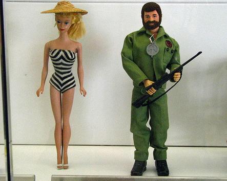 barbie gi joe couple