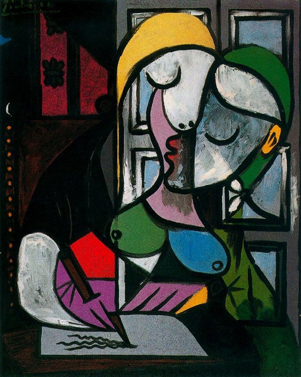 Picasso Woman Writing - 1934