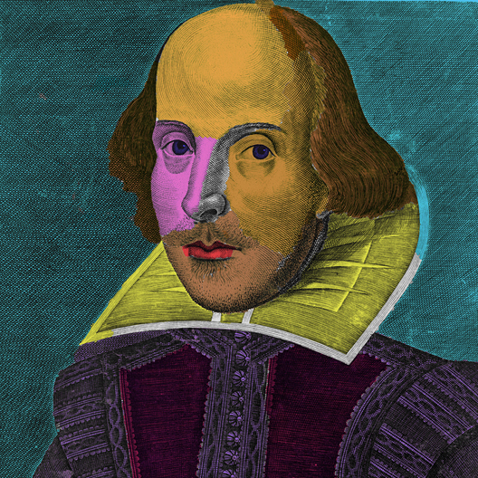 colorize Warhol Shakespeare 1623 somedia