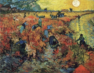 Red vineyards van gogh - lower res