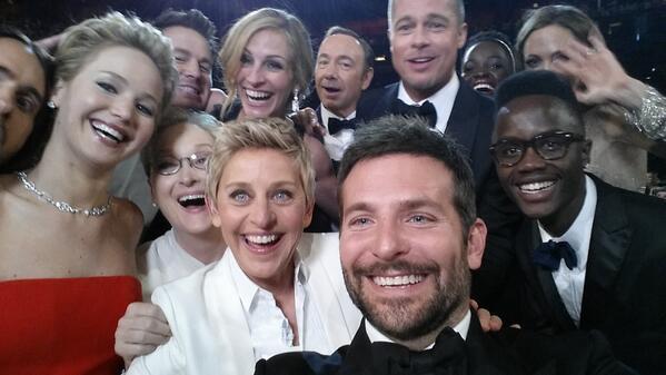 Ellen Oscar 2014 pic