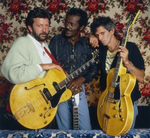 eric clapton chuck berry keith richards