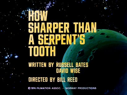 serpents tooth animated Star Trek
