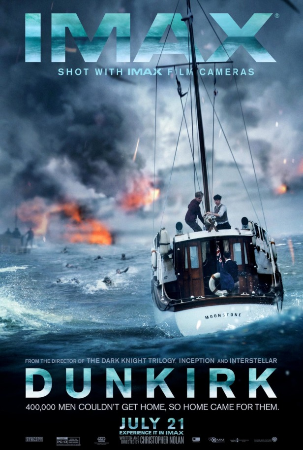 dunkirk nolan movie poster